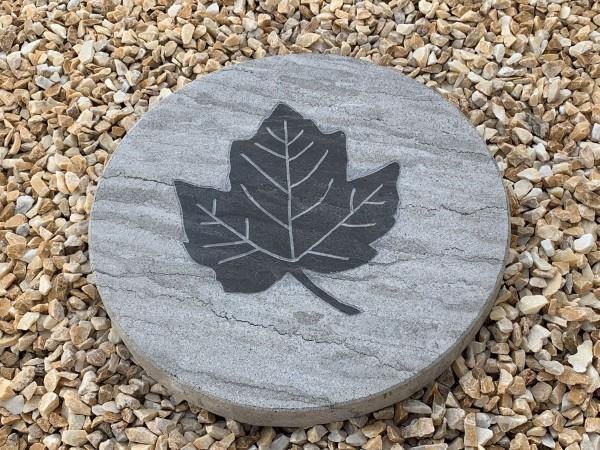 Limestone-Trittplatte Leaf