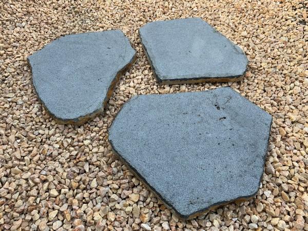 Basalt-Trittplatte