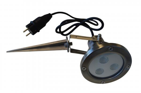 LED Außenleuchte mit Erdspieß