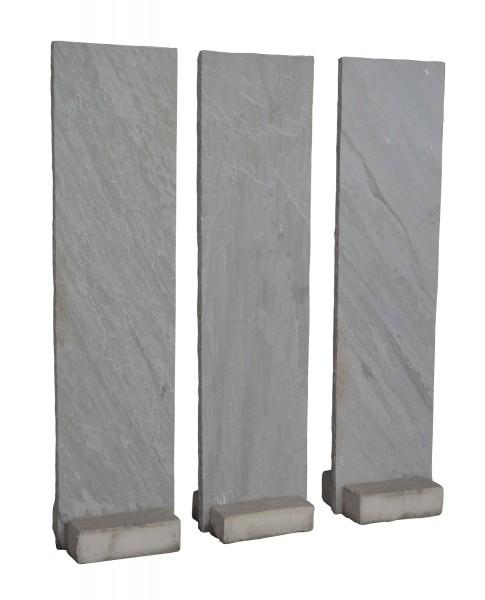 Sandstein-Taco, grau