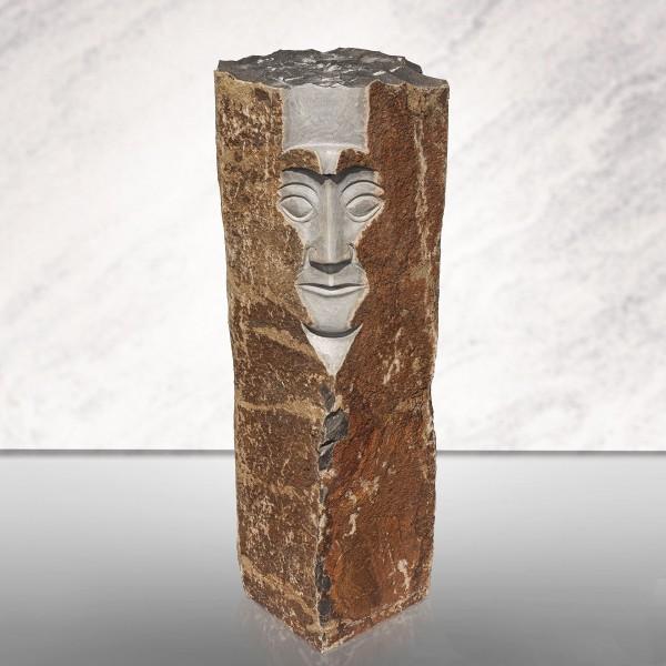 Basalt-Figur Face