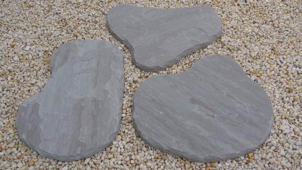 Trittplatten Light Grey
